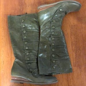 Miz Mooz Shoes - Miz Moon green riding boots